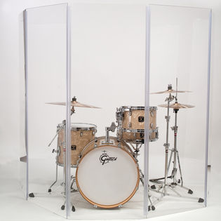 gibraltar drum shield - 5 panels