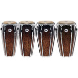 meinl floatune series congas - brown burl