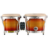 meinl free ride series bongos - chrome hardware