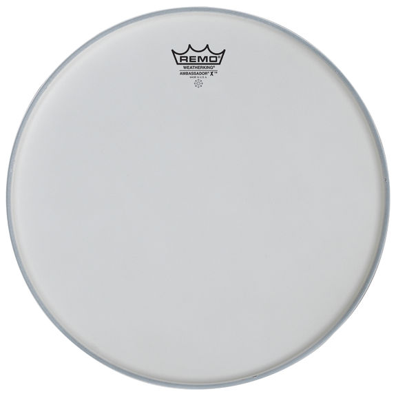 remo ambassador x14 coated drum heads snare drum heads tom heads drum set drum heads. Black Bedroom Furniture Sets. Home Design Ideas