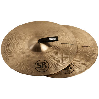 "sabian 18"" sr2 medium crash cymbal pair"