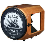 swan percussion black swan drum - cherry