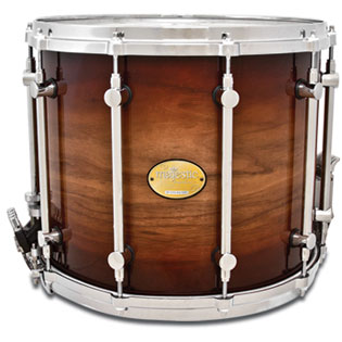 majestic prophonic symphonic field drum - 14x12 walnut