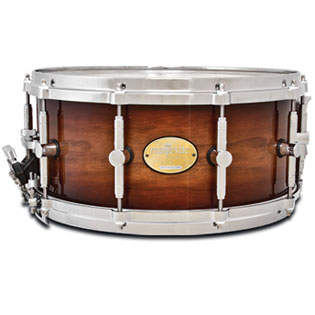 majestic prophonic snare drum - 14x5 walnut