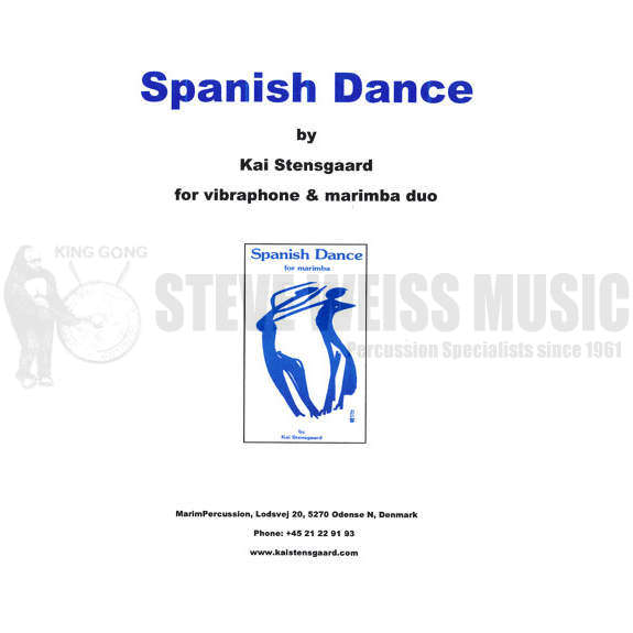 Stensgaard-Spanish Dance (duo version) (SP)-V/M