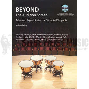 tafoya-beyond the audition screen (cd)
