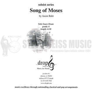 bahr-song of moses-sd