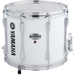yamaha power-lite marching snare drum -  white - 13x11