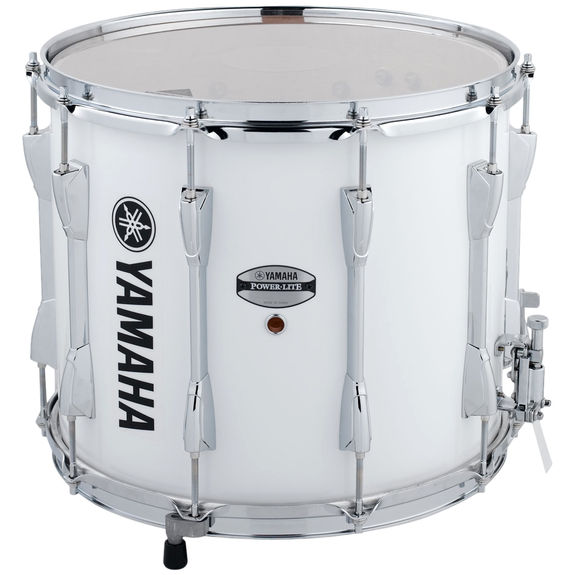 yamaha power lite marching snare drum white 14x12 marching snare drums marching steve. Black Bedroom Furniture Sets. Home Design Ideas
