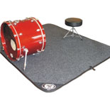 "protection racket drum mat - 78"" × 62"""