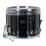 dynasty custom elite dfz marching snare drum (chrome hardware) - 14x12