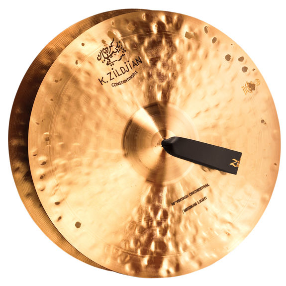 zildjian 16 k constantinople vintage orchestral medium light cymbal pair hand cymbals. Black Bedroom Furniture Sets. Home Design Ideas