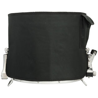 "weiss 14"" marching snare drum cover - black"