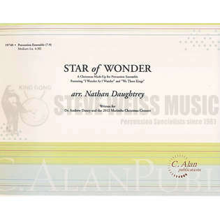 daughtrey-star of wonder (sp)-b/2v/c/3m/2t/p/opt. pn