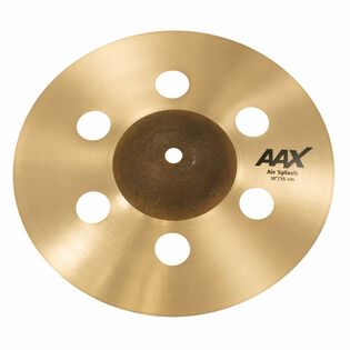 "sabian 10"" aax air splash cymbal"
