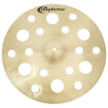 "bosphorus 16"" traditional series 18 hole crash cymbal"
