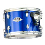 "pearl exx export drum set with 20"" bass - high voltage blue"