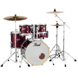 pearl export exx 5 piece drum set with hardware - 20′ bass drum