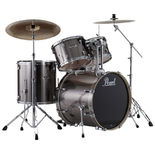 pearl exx export standard drum set with 22′ bass drum and hardware