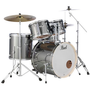 pearl export exx 5 piece drum set with hardware - 22′ bass drum