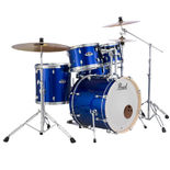 pearl export exx fusion 5 piece drum set with hardware - 22′ bass drum