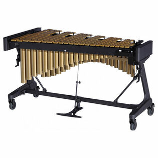 adams 3.0 octave concert series gold vibraphone with apex frame and motor