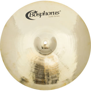 "bosphorus 15"" gold series vintage quick crash cymbal"