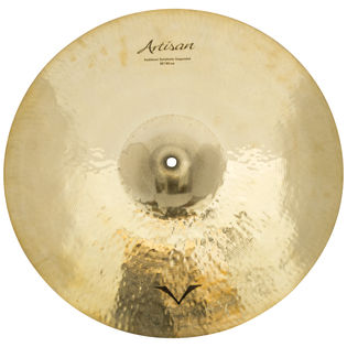"sabian 18"" artisan suspended cymbal - brilliant"