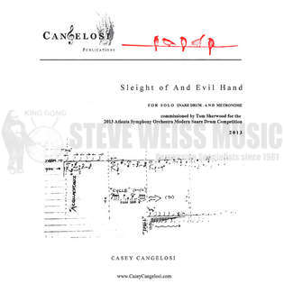 cangelosi-sleight of and evil hand-sd/metronome