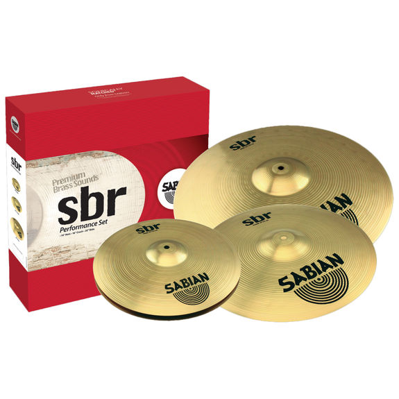 sabian sbr performance cymbal pack cymbal packs and cymbal sets steve weiss music. Black Bedroom Furniture Sets. Home Design Ideas