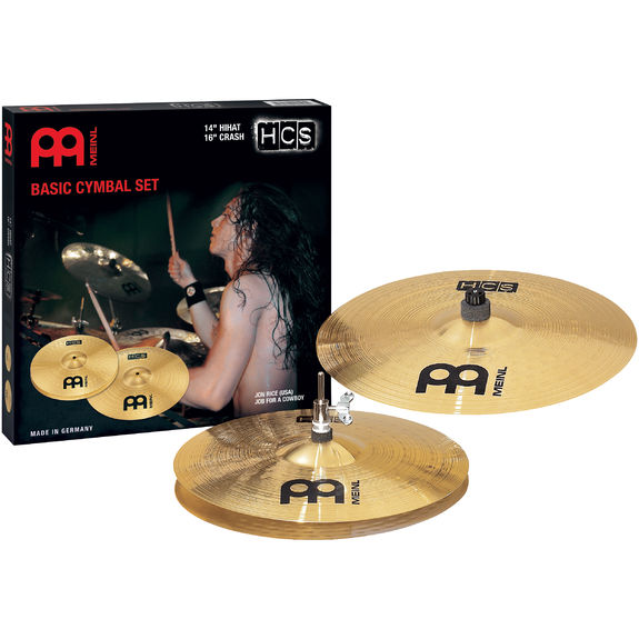 meinl hcs basic cymbal pack cymbal packs and cymbal sets cymbals gongs steve weiss music. Black Bedroom Furniture Sets. Home Design Ideas