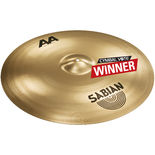 "sabian 24"" aa bash ride cymbal - brilliant"