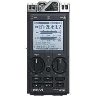roland 6-channel portable field recorder