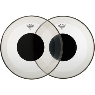remo powerstroke 3 clear black dot bass drum head remo drum heads brands steve weiss music. Black Bedroom Furniture Sets. Home Design Ideas