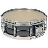 black swamp brass snare drum - multisonic