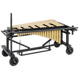 majestic 3.0 octave quantum vibraphone (no motor) with field frame - gold