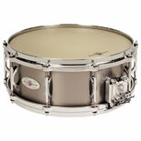 black swamp titanium elite snare drum - multisonic
