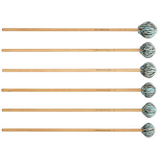 a. putnam goodenberger g-line mix marimba mallet set - birch
