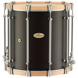 pearl philharmonic field drum - african mahogany 16x16