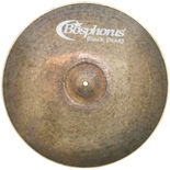 "bosphorus 19"" black pearl light crash ride cymbal"