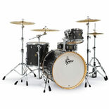 "Gretsch Catalina Maple 4 Piece Rock Shell Pack - 22"" Bass Drum Alternate Picture"