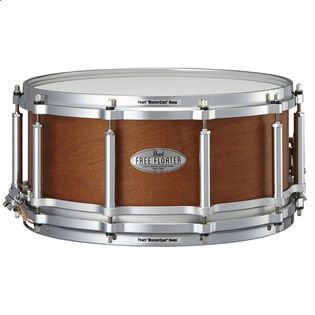 pearl task specific free floating mahogany/maple snare drum - 14x6.5