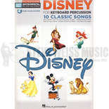 hal leonard-disney playalong for keyboard perc. (audio access included)