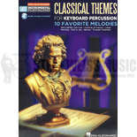 hal leonard-classical themes playalong for mallet perc. (audio access included)