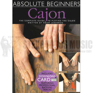 lederman-absolute beginners cajon (audio access included)