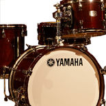 Yamaha Absolute Maple Hybrid 4 Piece Shell Pack - Classic Walnut Finish Alternate Picture