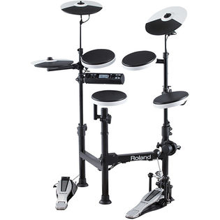 roland v-drums portable electronic zdrum set td-4kp
