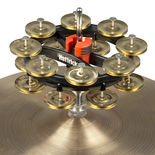 rhythm tech double hat trick g2 brass