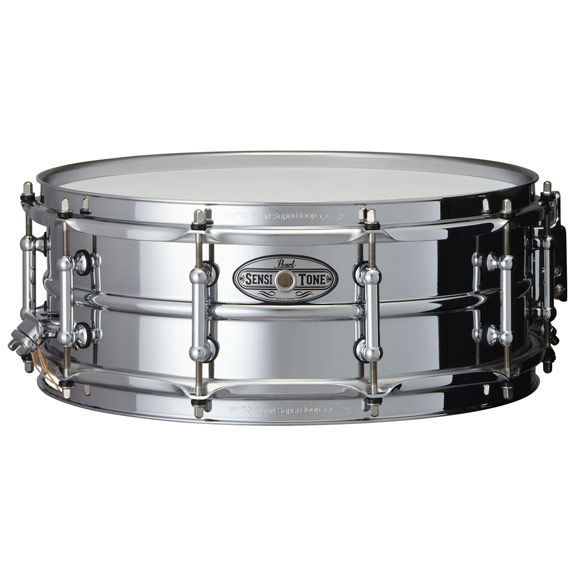 pearl beaded steel sensitone snare drum 5x14 metal snare drums snare drums steve weiss music. Black Bedroom Furniture Sets. Home Design Ideas