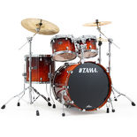 "tama starclassic performer 4 piece lacquer shell pack with 22"" bass drum"